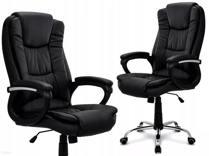 Krzesło biurowe Obrotowe Chrom Abl