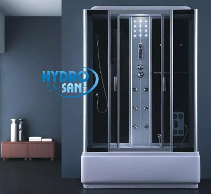 Kabina prysznicowa z hydromasażem i sauną 120x80 7716S