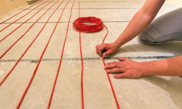 Panele, a ogrzewanie podłogowe