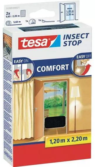 Moskitiera na drzwi balkonowe Tesa Insect Stop Comfort
