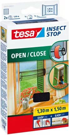 Moskitiera na drzwi balkonowe Tesa Moskitiera na okno z łatwym otwieraniem