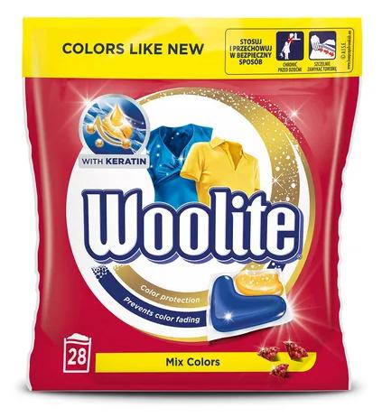 Kapsułki Benckiser Woolite Mix Colors 616 g (28 sztuk)