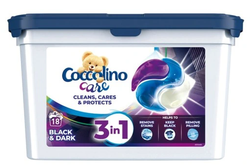 Coccolino Care kapsułki do prania Black 29 szt.
