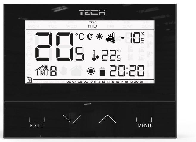 Regulator Tech Sterownik St-292 V2 Z Czujką Zewnetrzną