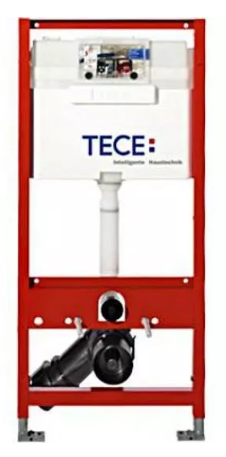 Stelaż Tece Profil do WC 112×50 cm (do lekkiej zabudowy)