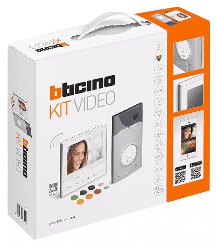 Wideodomofon Legrand Zestaw Videodomofonowy Jednorodzinny Bticino Wi-Fi (363911)